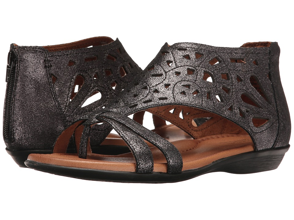 Rockport Cobb Hill Collection Cobb Hill Jordan (Dark Pewter) Women's Sandals