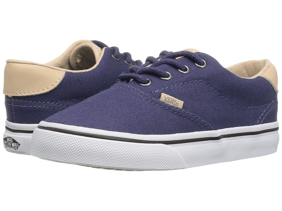 Vans Kids - Era 59 (Toddler) ((Veggie Tan) Crown Blue/True White) Boy's Shoes