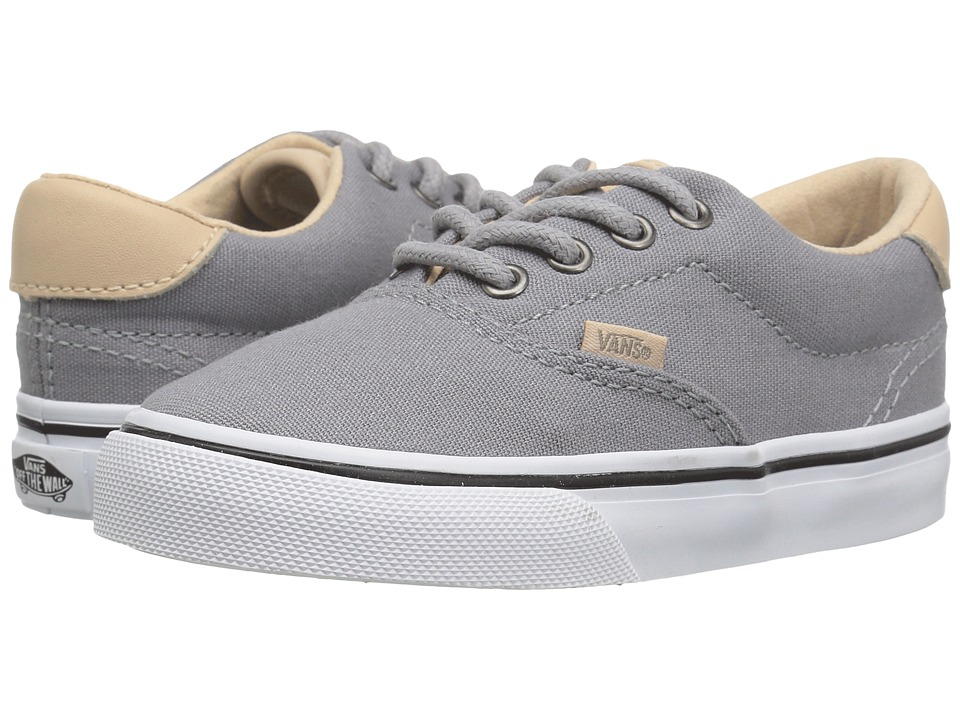 Vans Kids - Era 59 (Toddler) ((Veggie Tan) Frost Gray/True White) Boy's Shoes
