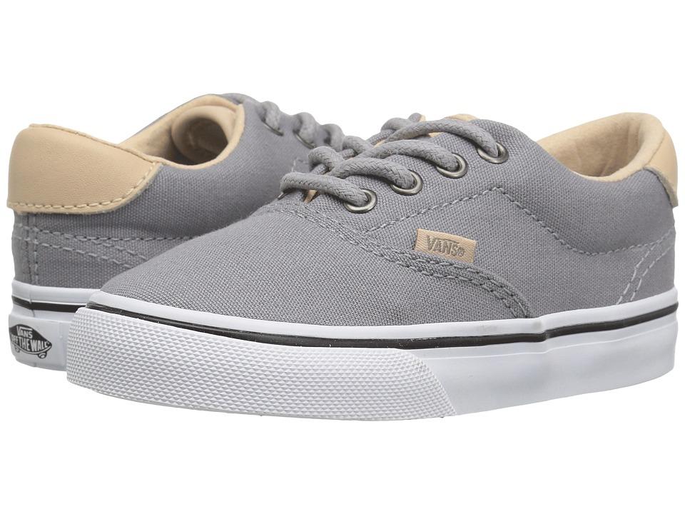Vans Kids - Era 59 (Toddler) ((Veggie Tan) Frost Gray/True White) Boy's Shoes