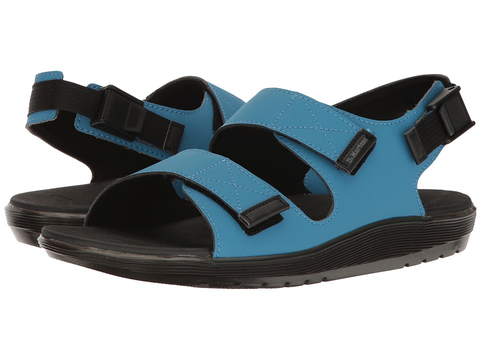 Dr. Martens - Crewe (Mid Blue Ajax Non Woven) Men's Sandals