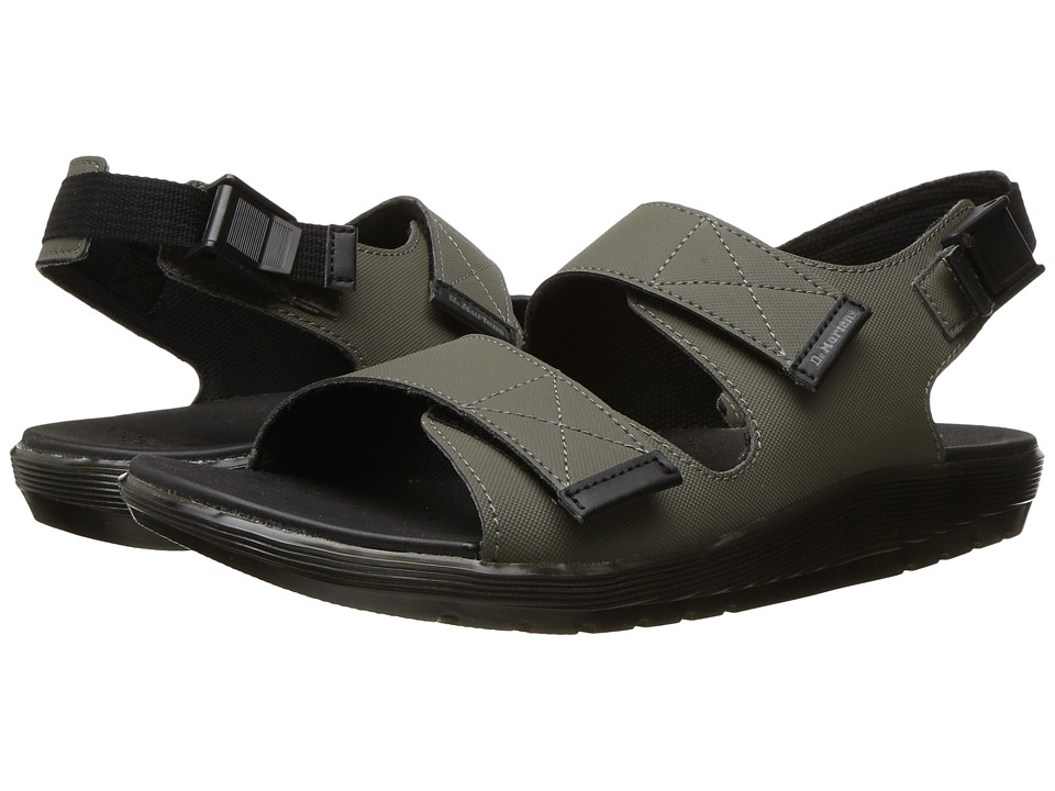 Dr. Martens - Crewe (Dark Taupe Ajax Non Woven) Men's Sandals