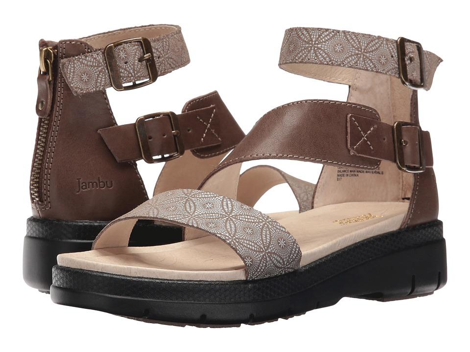 Jambu - Cape May (Taupe Print) Women's Shoes