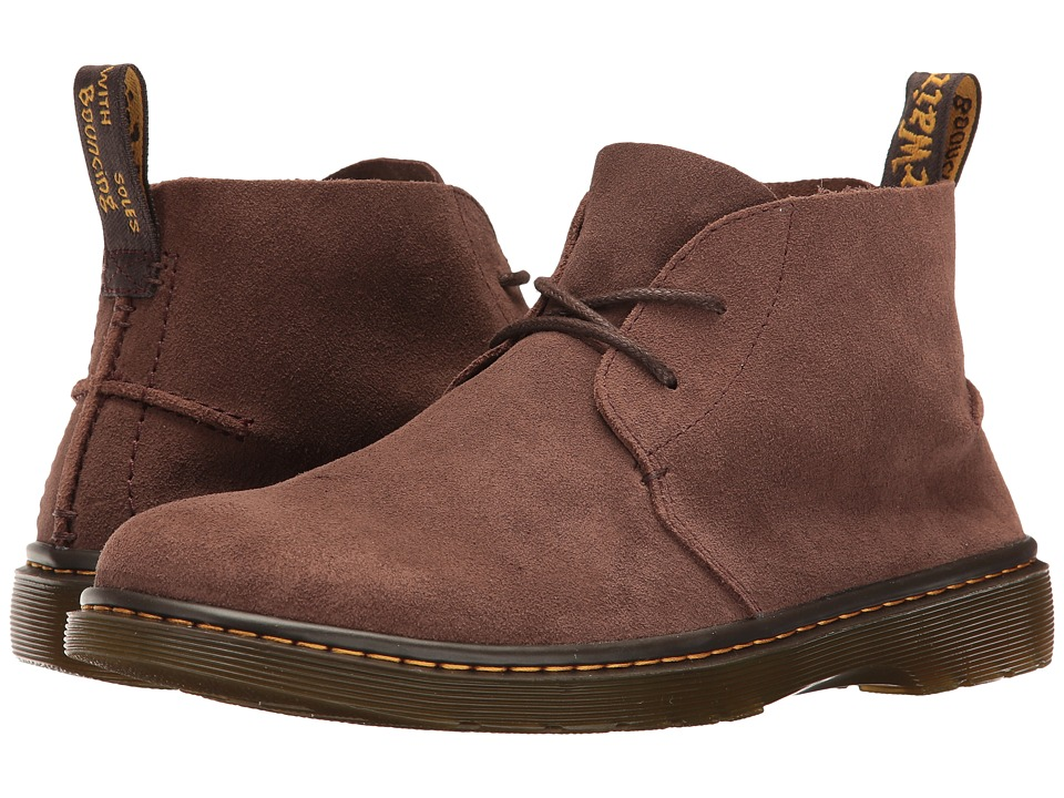 Dr. Martens - Ember (Dark Brown Bronx Suede) Men's Boots