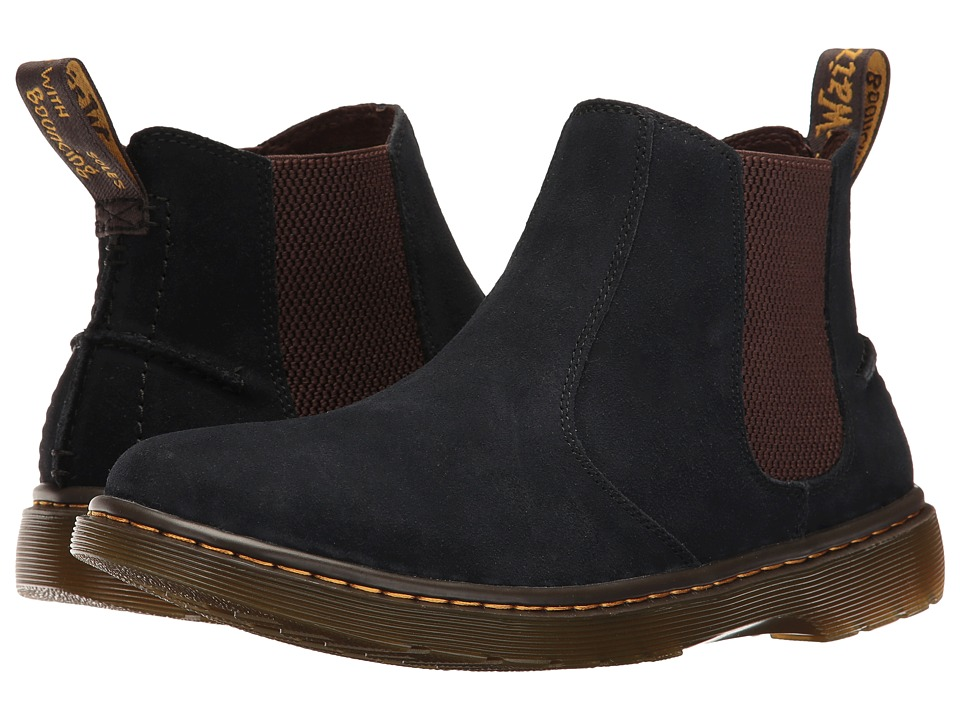 Dr. Martens - Lyme (Navy Bronx Suede) Men's Boots