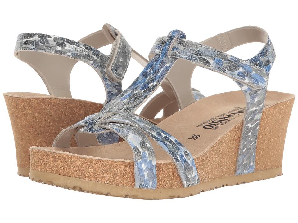 Mephisto - Liviane (Light Grey Monet) Women's Wedge Shoes