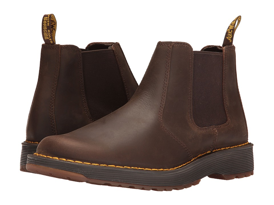 Dr. Martens - Trenton (Dark Brown Republic) Men's Boots