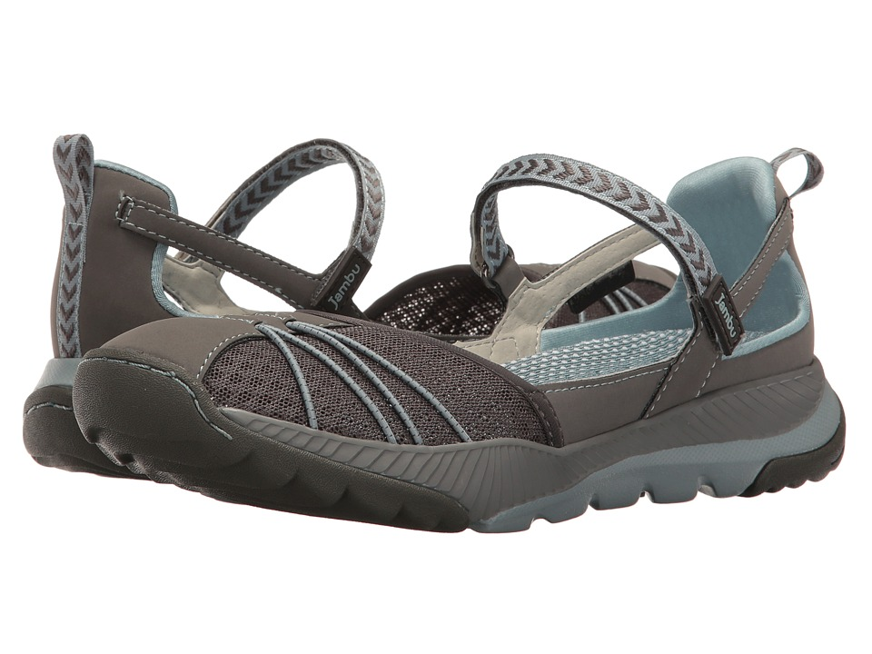 Jambu - Iris-Vegan Water Ready (Grey/Stone Blue) Women's Shoes