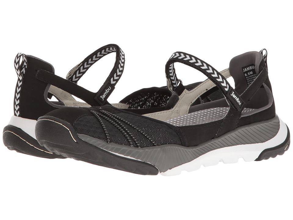 Jambu - Iris-Vegan Water Ready (Black/White) Women's Shoes