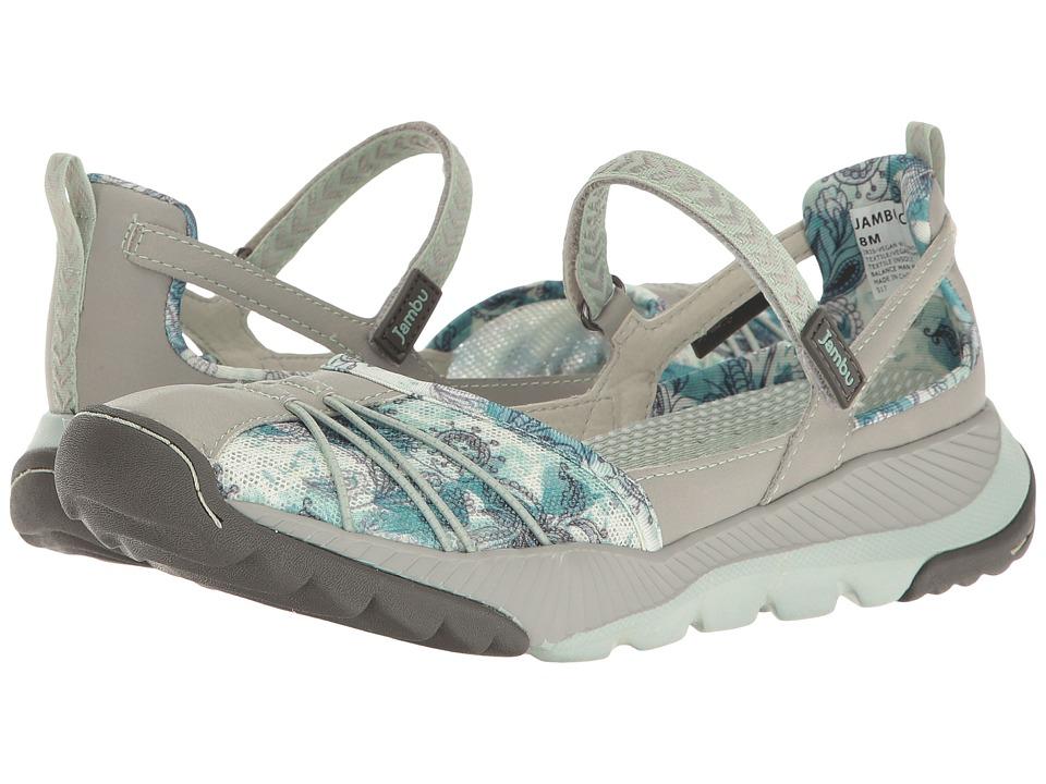 Jambu - Iris-Vegan Water Ready (Light Grey/Green) Women's Shoes