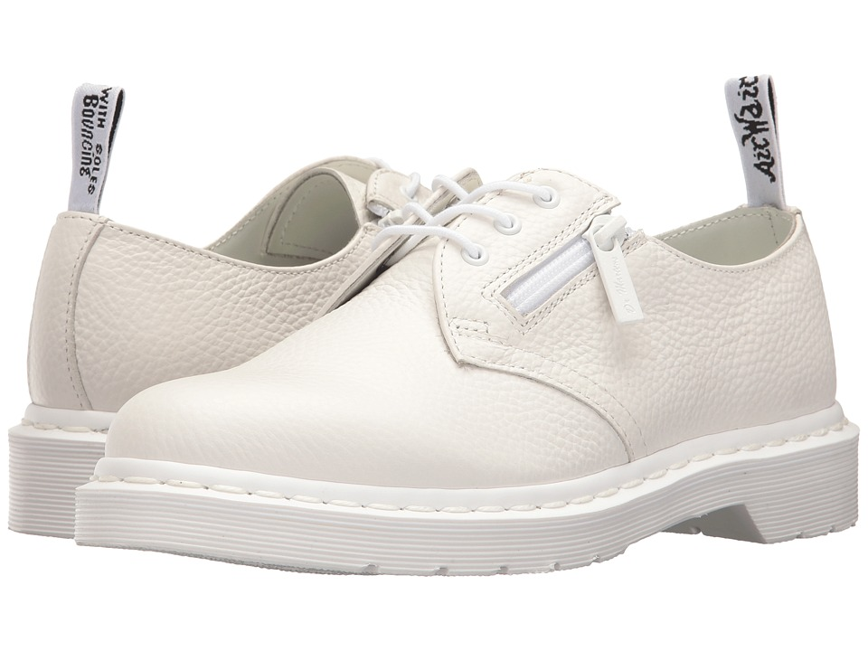 Dr. Martens 1461 w/ Zip (White Aunt Sally) Women