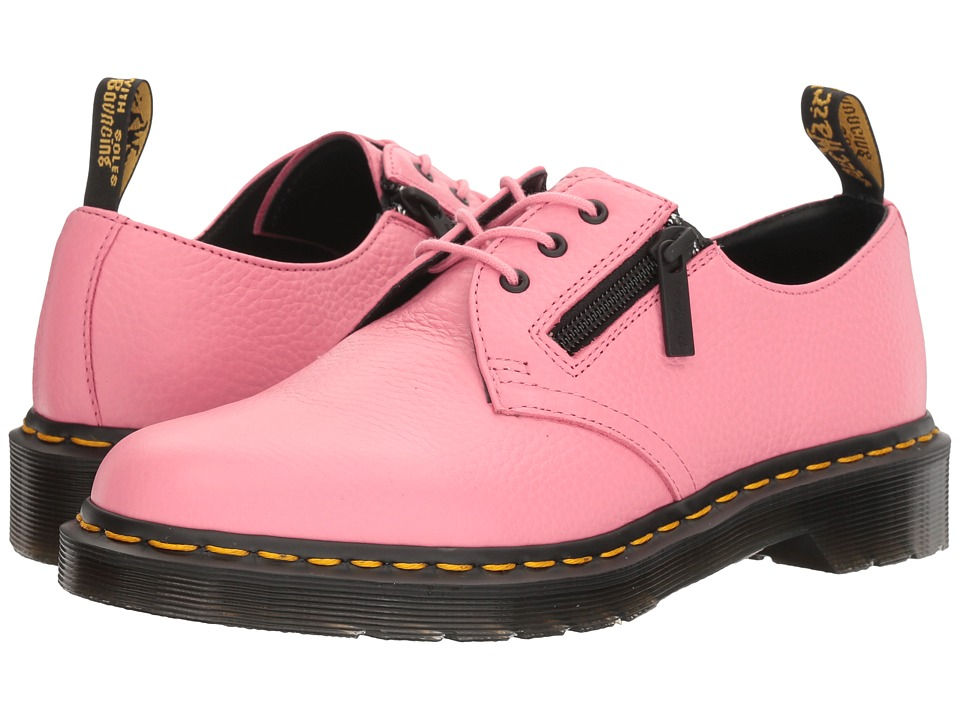 Dr. Martens 1461 w/ Zip (Soft Pink Aunt Sally) Women