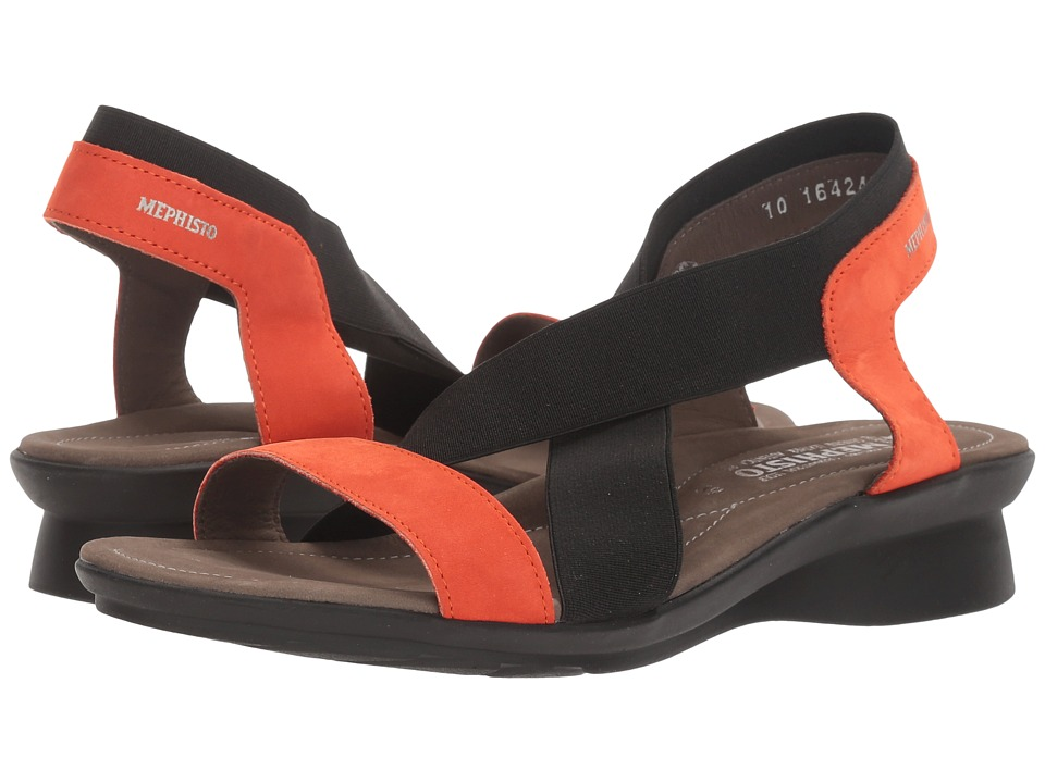 Mephisto Pastora (Orange Bucksoft) Women