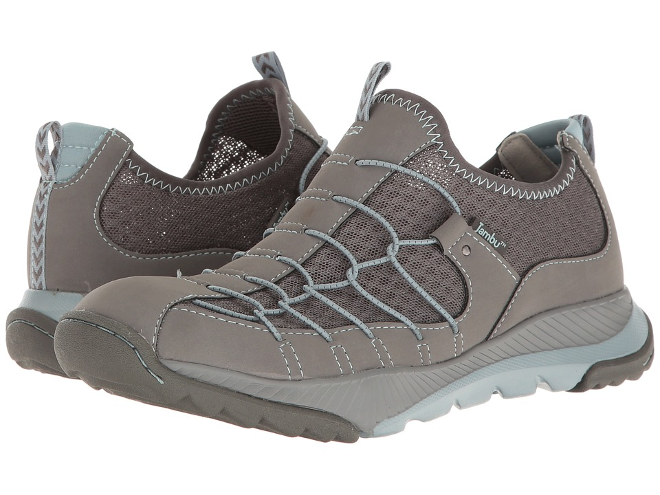 Jambu - Sparrow-Vegan Water Ready (Grey/Stone Blue) Women's Shoes