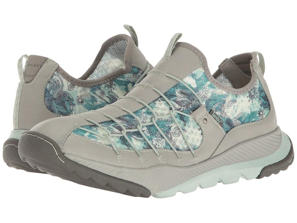 Jambu - Sparrow-Vegan Water Ready (Light Grey/Green) Women's Shoes