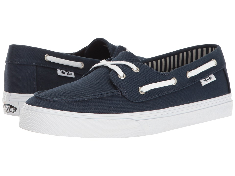 Vans - Chauffette SF ((Stripes) Navy) Women's Lace up casual Shoes