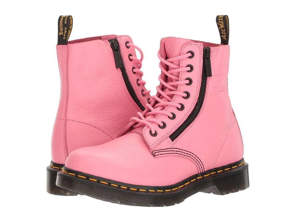 Dr. Martens - Pascal w/ Zip (Soft Pink Aunt Sally) Women's Boots