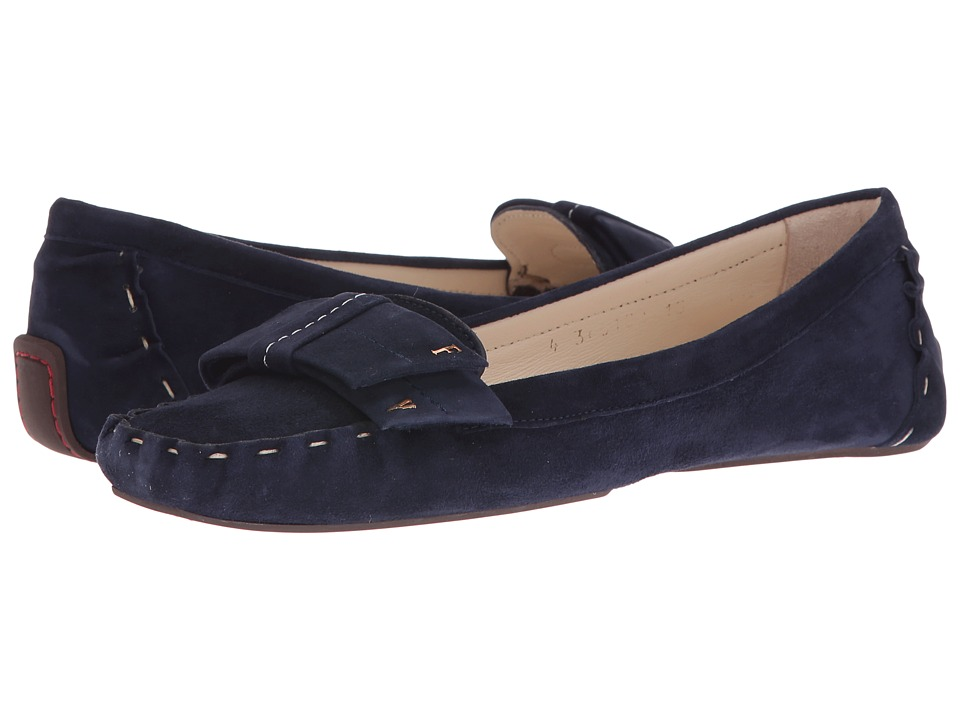 Frances Valentine - Franny (Blue Suede) Women's Shoes