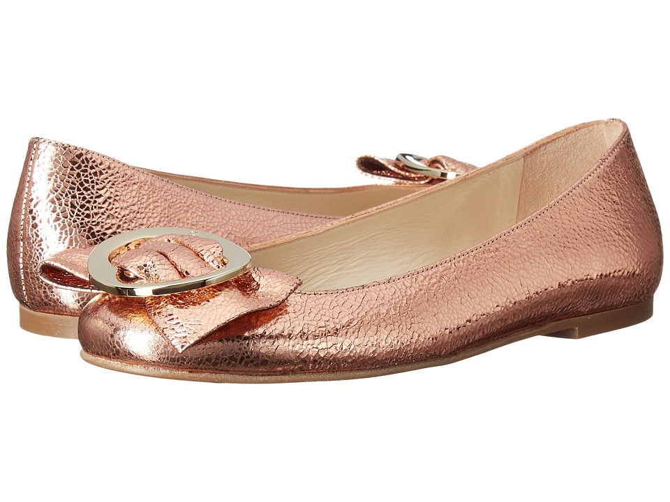 Frances Valentine - Frances 2 (Rose Gold Crackle Metallic) Women's Shoes