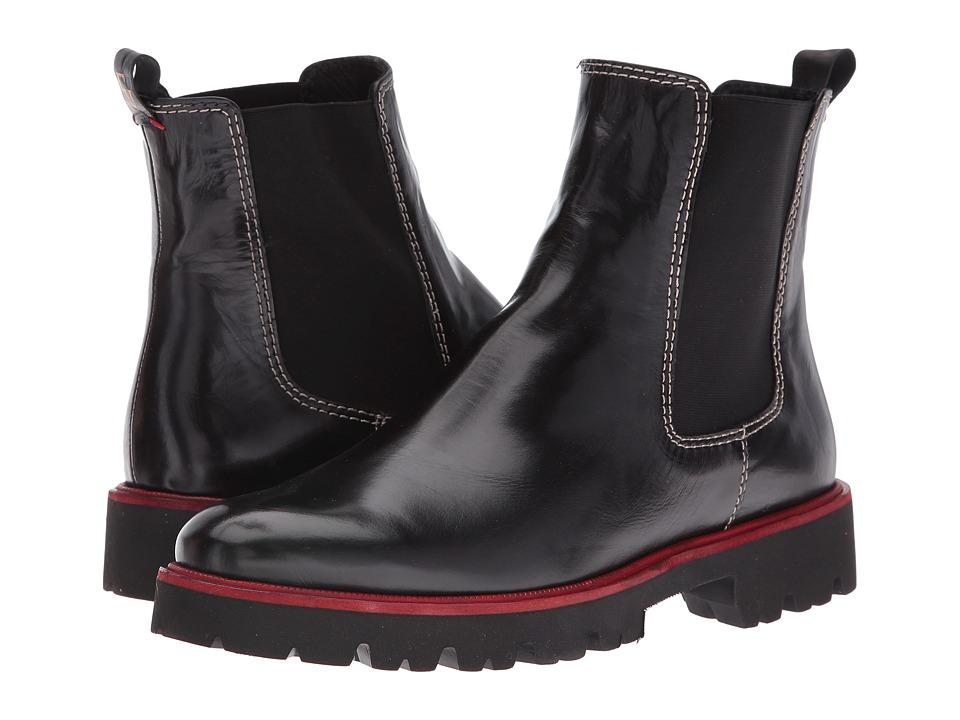 Frances Valentine - Frank (Black Leather) Women's Shoes