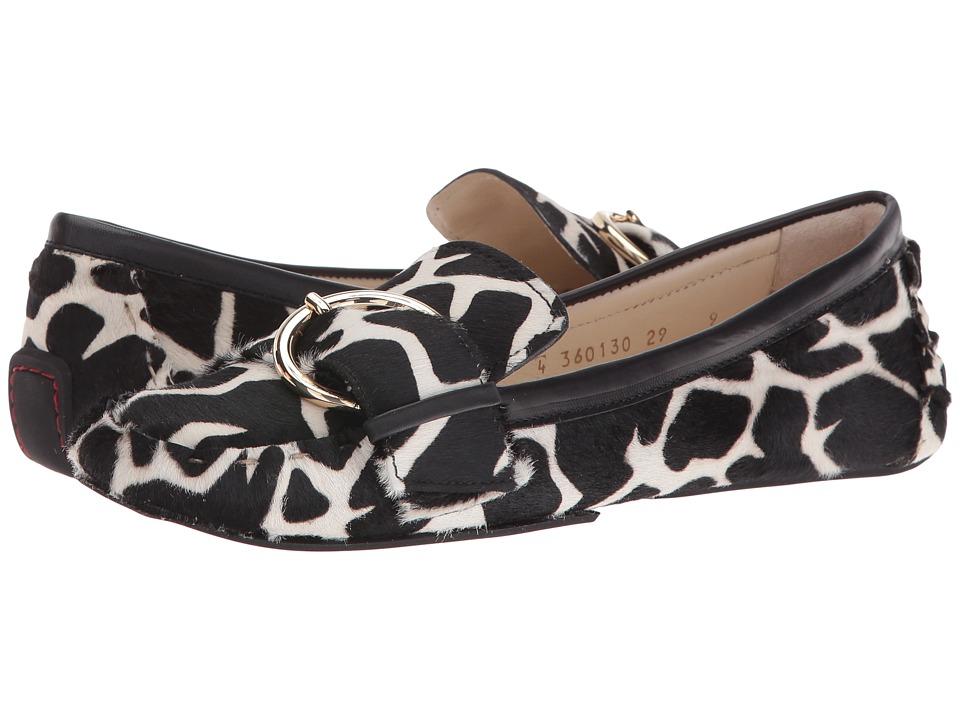 Frances Valentine - Teddy (Giraffe Multi Haircalf) Women's Shoes