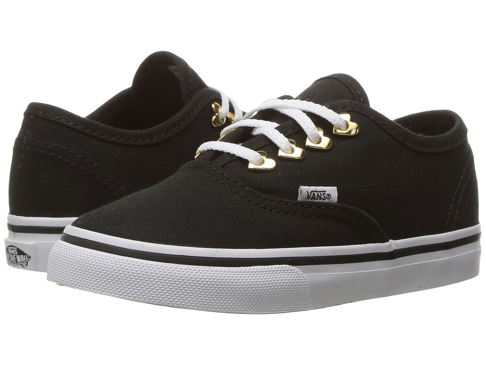 Vans Kids - Authentic (Toddler) ((Eyelet) Hearts/Black) Girls Shoes