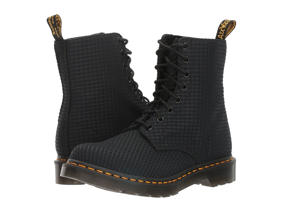 Dr. Martens - Page WC (Black Waffle Cotton) Women's Boots