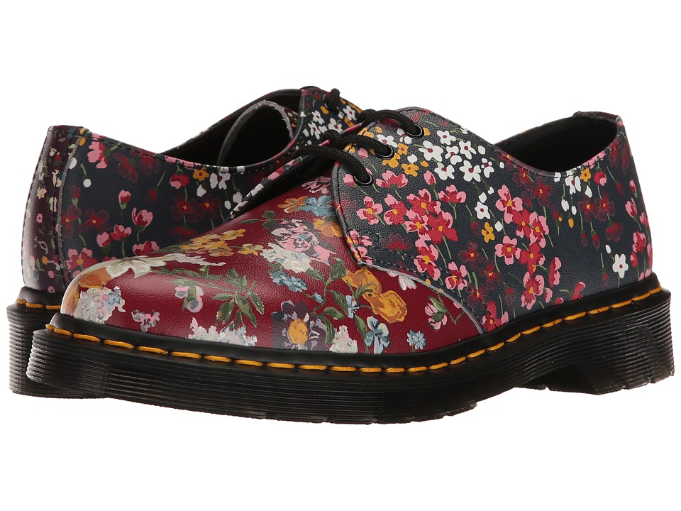 Dr. Martens - 1461 FC (Multi Floral Mix Backhand) Women's Boots