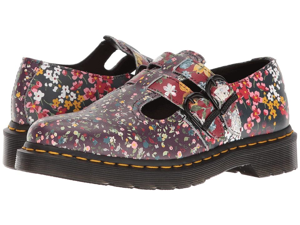 Dr. Martens - 8065 FC (Multi Floral Mix Backhand) Women's Boots