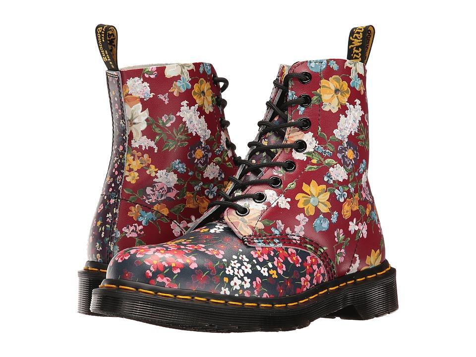 Dr. Martens - Pascal FC (Multi Floral Mix Backhand) Women's Boots