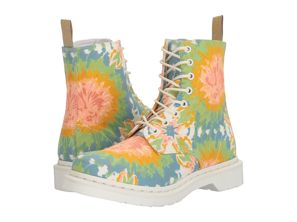 Dr. Martens - V Page MTD (Multi Mandala TD Fine Canvas) Women's Boots