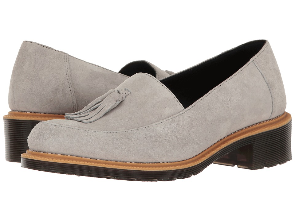 Dr. Martens - Favilla II (Mid Grey Soft Buck) Women's Boots
