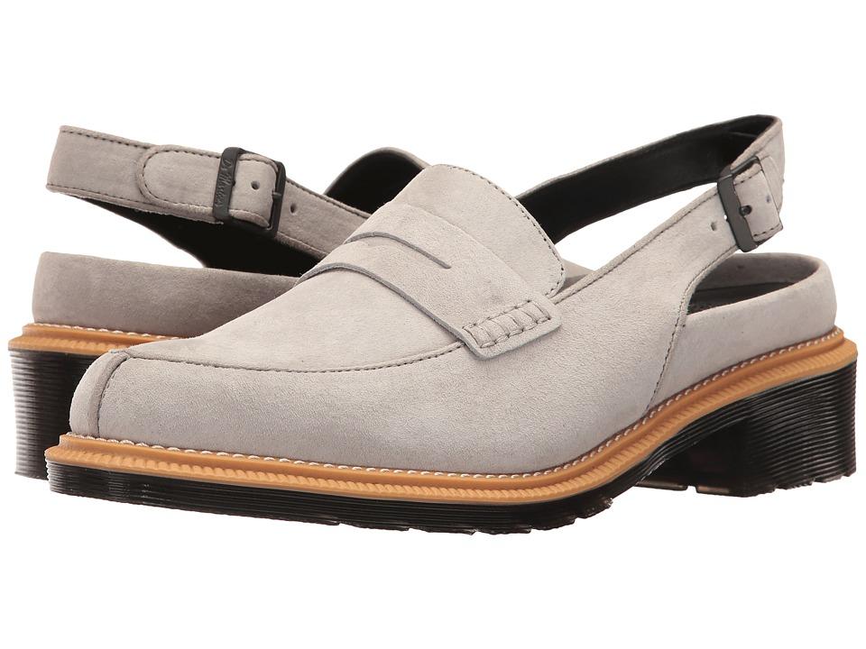 Dr. Martens - Romana (Mid Grey Soft Buck) Women's Sandals