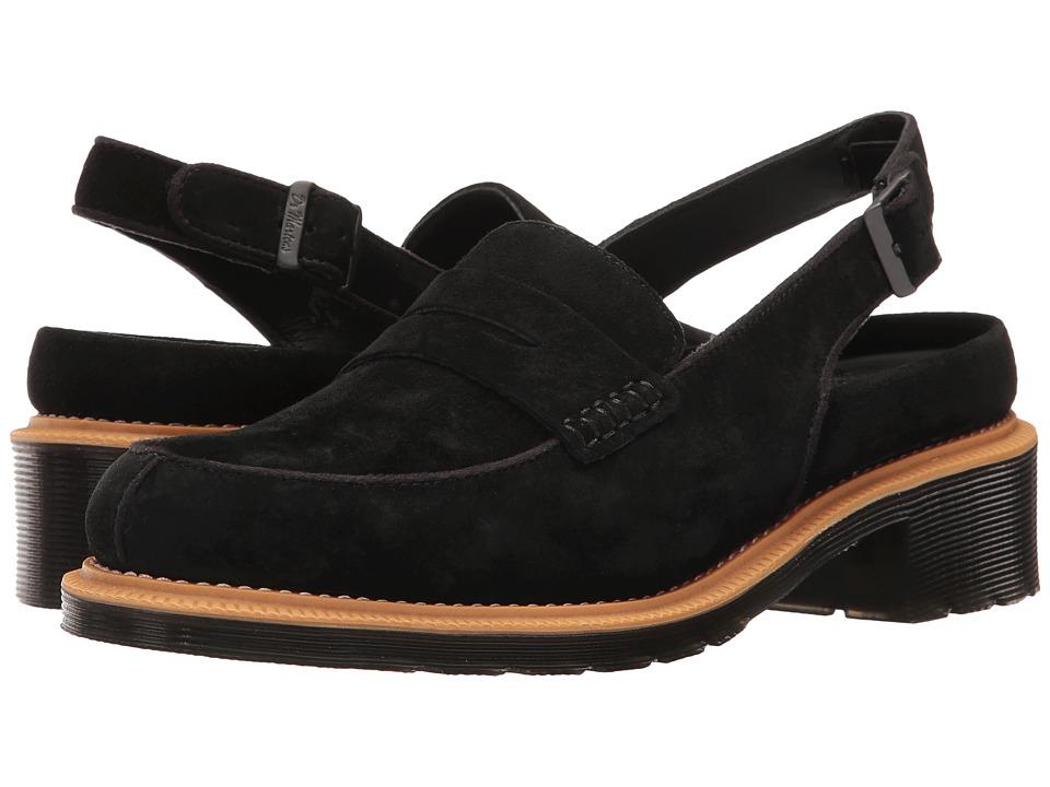 Dr. Martens - Romana (Black Soft Buck) Women's Sandals