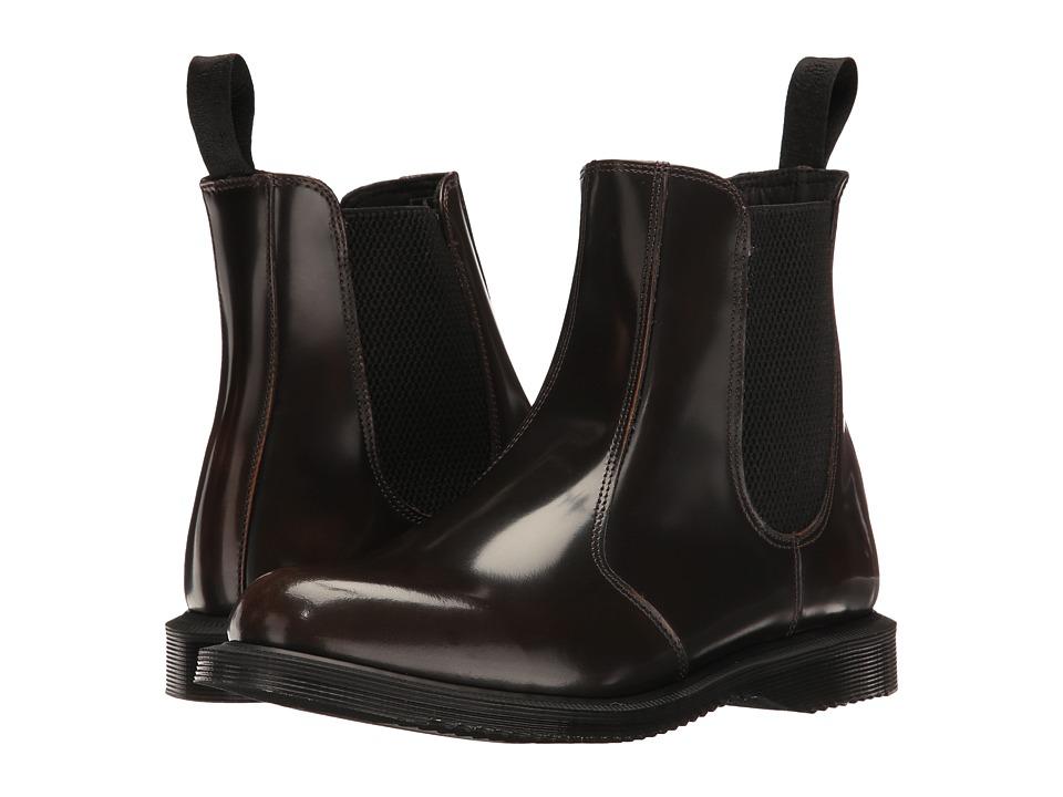 Dr. Martens - Flora (Tan Arcadia) Women's Boots