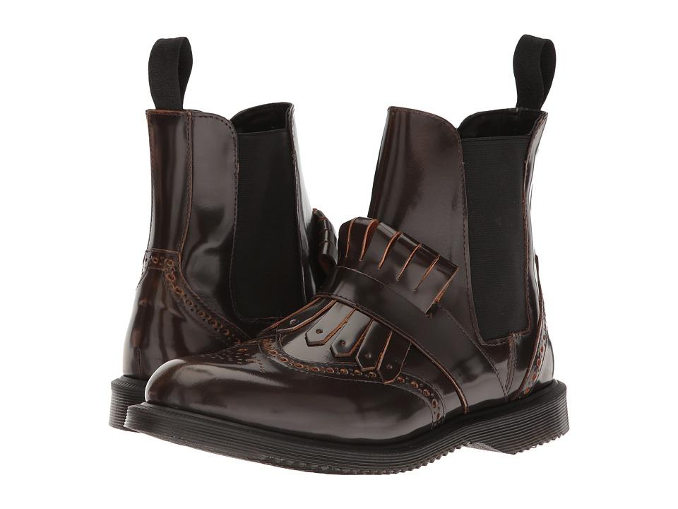 Dr. Martens - Tina (Tan Arcadia) Women's Boots