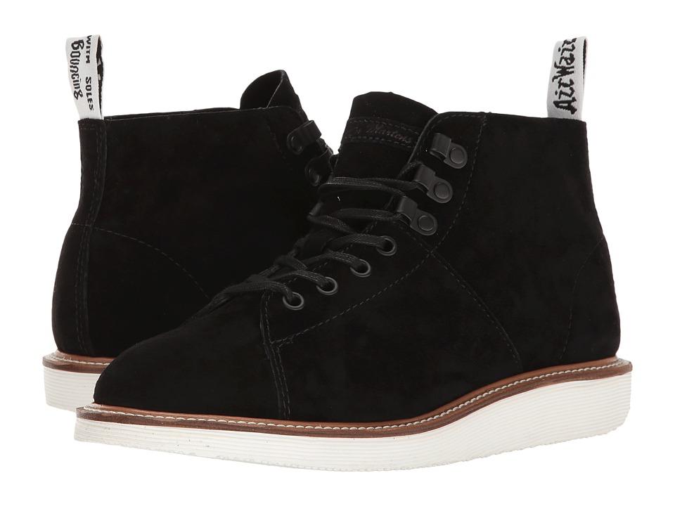 Dr. Martens - Lesley (Black Soft Buck) Women's Boots
