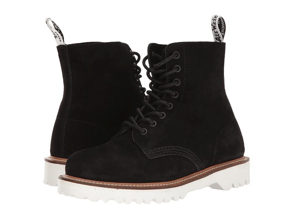 Dr. Martens - Pascal II (Black Soft Buck) Women's Boots