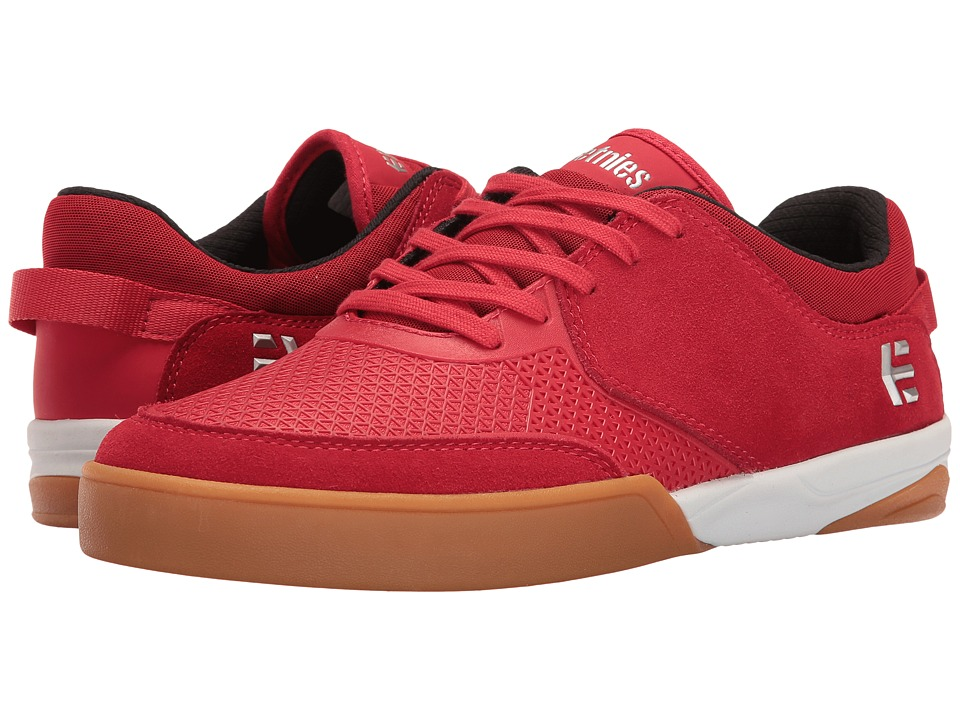 etnies - Helix (Red) Men's Skate Shoes