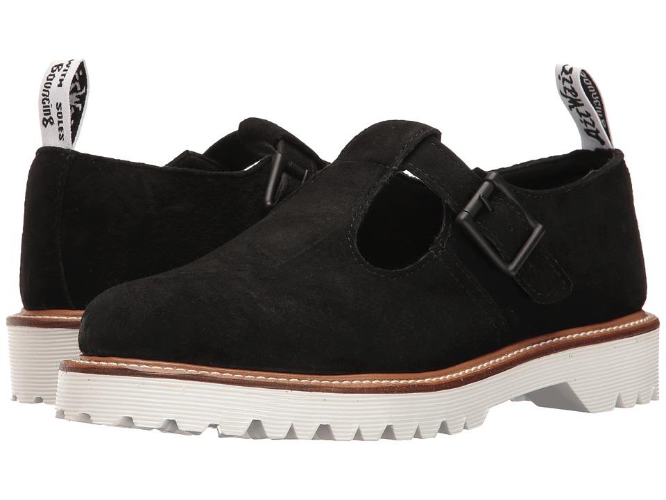 Dr. Martens - Polley II (Black Soft Buck) Women's Boots