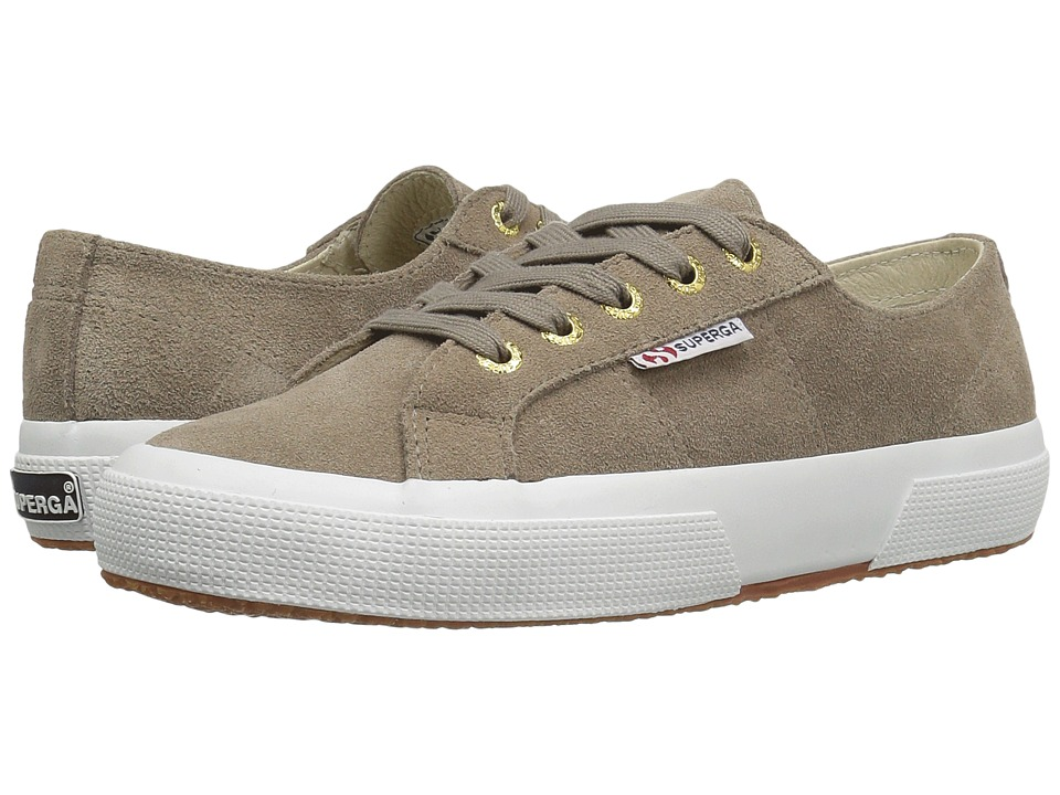 Superga 2750 SueU (Sand/Gold Eyelets) Women