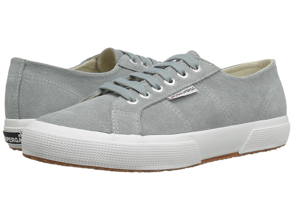 Superga - 2750 SueU (Light Grey) Women's Lace up casual Shoes