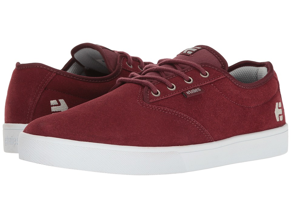 etnies - Jameson SL (Burgundy) Men's Skate Shoes