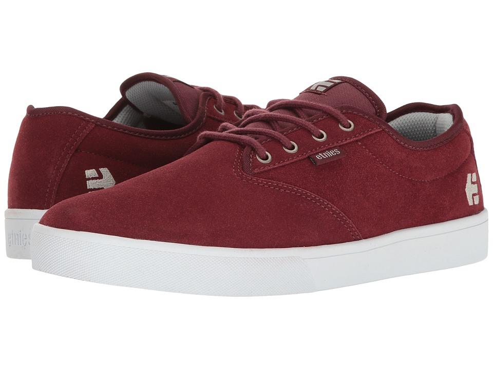 etnies - Jameson SL (Burgundy) Men's Skate Shoes