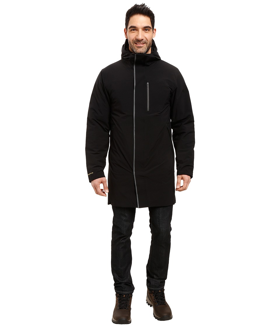 Mountain Hardwear - ZeroGrand Trench Coat (Black) Men's Coat