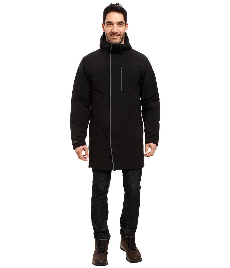 Mountain Hardwear - ZeroGrand Trench Coat (Black) Men's Coat