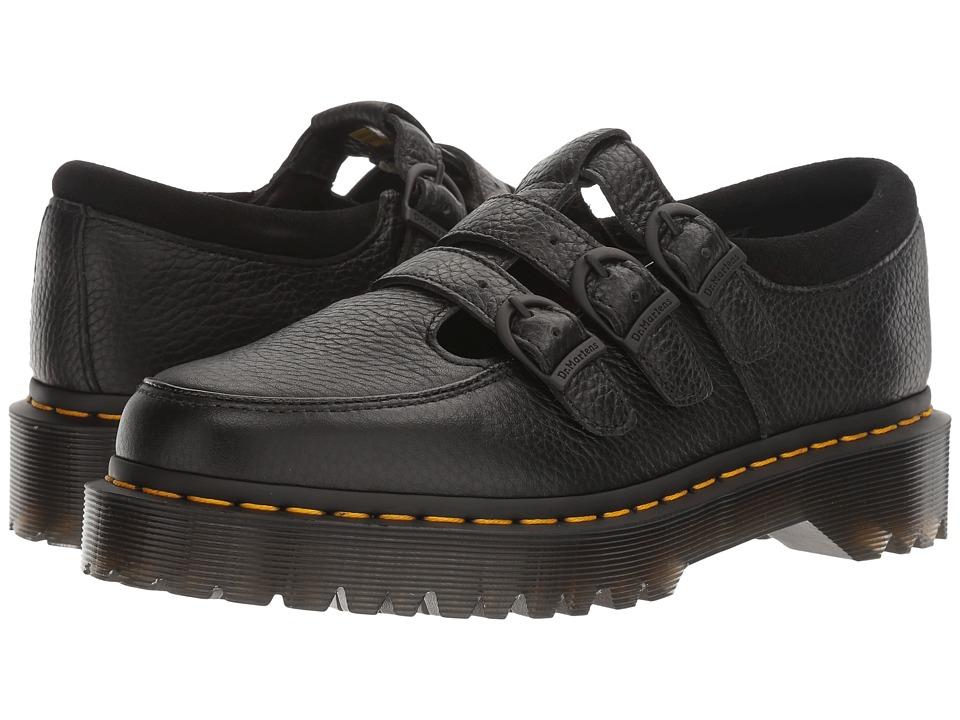 Dr. Martens - Freya (Black Aunt Sally/Hi Suede WP) Women's Maryjane Shoes