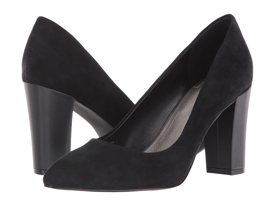 Tahari - Ava (Black Suede) Women's Shoes