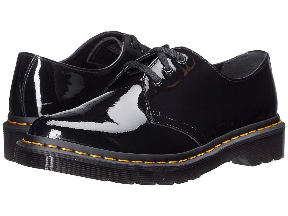 Dr. Martens - Dupree (Black Patent Lamper) Women's Boots