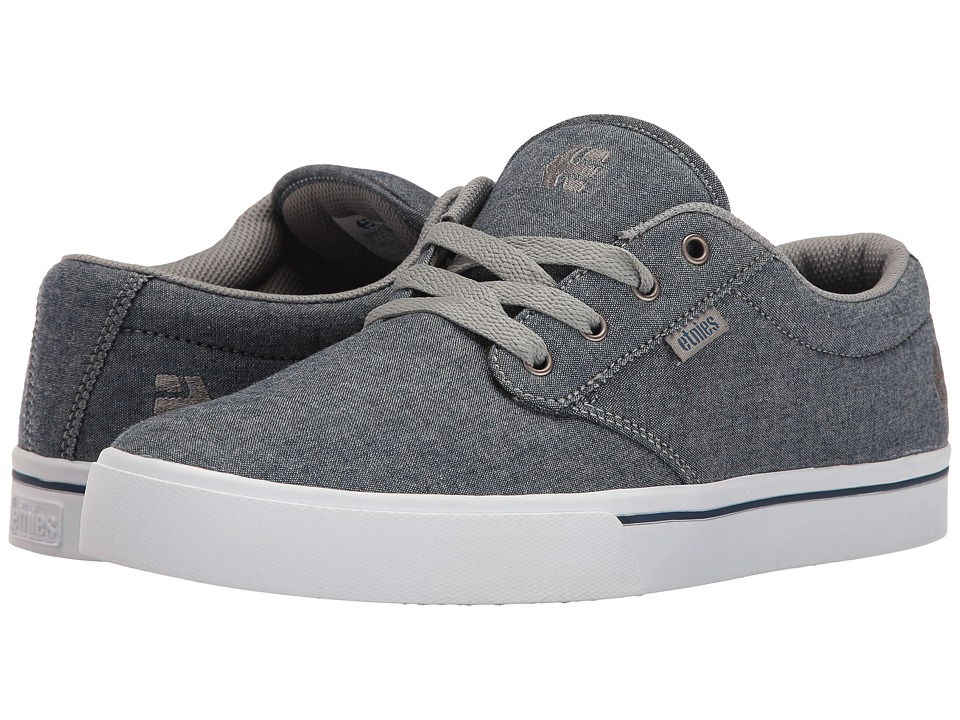 etnies - Jameson 2 Eco (Navy/Grey) Men's Skate Shoes